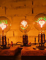 Industrial Loft Desk Lights Night Light Retro E27 Edison Bulb for Wedding Birthday Party Decoration-FJ-DT2X2-039A0