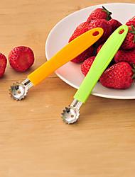 Strawberry Tomato Remove Stalks Corer Huller Pitter Stem Remover  Fruit Slicer (Random Color)