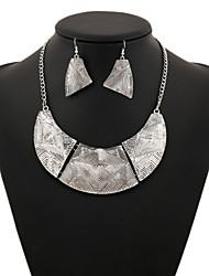 Unisex Vintage / Party Alloy Necklace / Earrings Sets