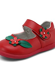Girl's Flats Spring / Fall Comfort / Round Toe Leatherette Outdoor Multi-color