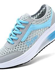 Turnschuhe Damen Schuhe Tüll Blau / Grün / Rosa