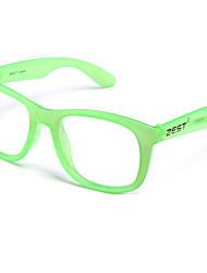 mode unisexe cadres fluorescentes sans lentille de zh001 de cadre optique