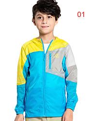 Senderismo Chaqueta / Paravientos / Tops NiñosImpermeable / Transpirable / Resistente a los UV / Secado rápido / Listo para vestir /