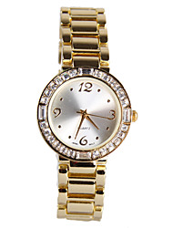 Fashion Gold Diamond Women's Watch Cool Watches Unique Watches