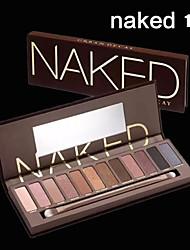 12 Paleta de Sombras de Ojos Seco Paleta de sombra de ojos Polvo NormalMaquillaje de Diario / Maquillaje de Fiesta / Maquillaje Ojos de