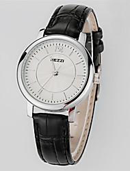 Women's  Fashion  Simplicity  Creative Quartz  Leather Lady Watch