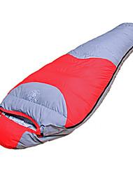 Schlafsack Mumienschlafsack Einzelbett(150 x 200 cm) -15℃ Enten Qualitätsdaune 1500g 220X80 Camping warm halten LANGYA