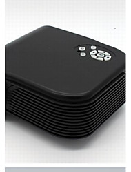 H88 Ultra Portable 180LM 153600 RGB Pixels LED Projector with Remote Control Compatible Computer Mobile Phone U Disk