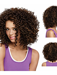 Synthetic African american wigs Short kinky curly hair wigs for women sw0444