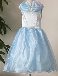 Vestido Chica de - Todas las Temporadas - Poliéster - Azul