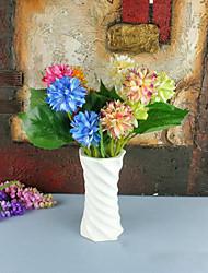 2 hesds Hortensias fleurs fleur de soie fleurs de soie fleurs artificielles pour kit de fleurs de décoration à domicile 1pc / set