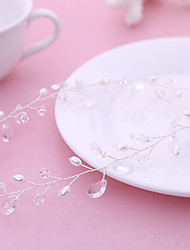 Bride's Drop Water Shape Rhinestone Forehead Wedding Headbands 1 PC