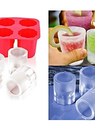 Cup Mold Ice  DIY Pops Mould Popsicle Molds Yogurt Ice Box Fridge Frozen Treats Freezer(Ramdon Color)