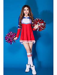 Vestidos ( Azul , Spandex , Vestidos de Cheerleader ) - Vestidos de Cheerleader - para Mujer
