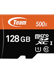 Original TEAM TF(Micro-SD) Card Class10 500X(128GB) Memory Card
