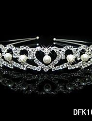 Pearl Heart Shape Headband for Wedding Party