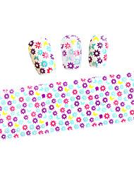 5pcs 100cmx4cm Glitter  Nail Foil Sticker Polish  DIY Beauty  Nail Decorations DIY for Nail Art Sticker STZXK01-49