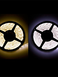 zdm ™ wasserdicht 5 m LED 300 * 3528 smd dc12v warmweiß / naturweiß 20w ip65