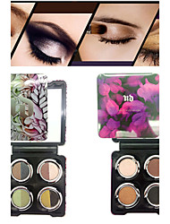 4 Color Shimmer Eye Shadow(Assorted Colors)