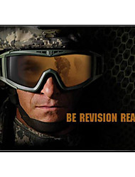 Lens 3 Colors Lense for One Set Protective Goggle For Hunting Cycling