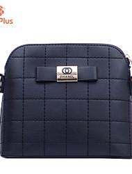 M.Plus® Women's Vintage Plaid PU Leather Messenger Shoulder Bag