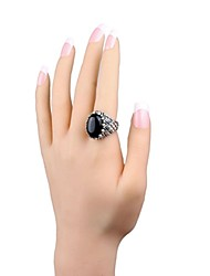 The New Fashion Fine Crystal Gem Ring With Packaging Box