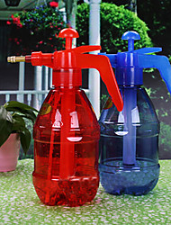 1.2L Water Pressure Watering Irrigating Can for Garden Tool Random Color