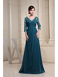 Ball Gown Mother of the Bride Dress - Floor-length Chiffon