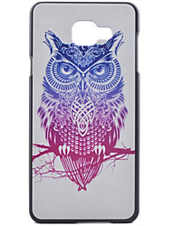 For Samsung Galaxy Case Pattern Case Back Cover Case Owl PC Samsung A7(2016) / A5(2016) / A3(2016) / A7 / A5 / A3