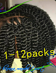 1Pack/Lot 12-24Inch Synthetic Extention Hair Kanekalon Fiber Havana Twist Crochet Braids for Female and Children