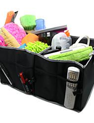 Tirol t14654 plegable de la bolsa de almacenamiento maletero del coche organizador del almacenaje del paño de Oxford de la caja de