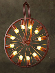 Retro Wheel Pendant To do The Old Industrial Hanging Lamp A