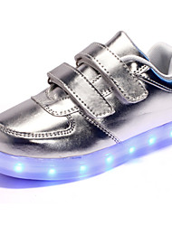 LED Light Up Shoes,Unisex Kid Boy Girl Upgraded Patent Leather Sport Shoes Flashing Sneakers USB Charge