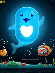 Lovely Cartoon Wallpaper Lamp Light Controlled Emergency LED Night Light for Kids Room Home Decoration(Assorted Color)