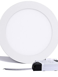 15W 1200LM Round Ceiling Lamp LED Panel Lights LED Recessed Downlight(85-265V)