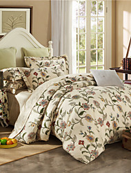 Chinese Egyptian Cotton Bedding Set Queen King Double Bed Size