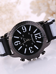 Men's fashion silicone watches