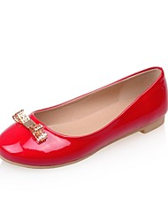 Women's Shoes Leatherette Low Heel Heels Heels Wedding / Office & Career / Party & Evening Black / Red / White