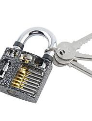 cortante profissional dentro de vista da prática cadeados bloqueio habilidade trainer formação escolher para serralheiro com chaves em
