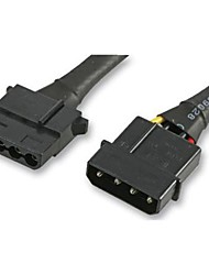 akasa adaptateurs de câble d'alimentation, câble d'extension molex 4pin psu
