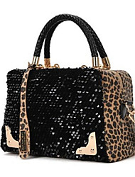 Women PU Tote Animal Print