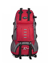 50 L Rucksack Legere Sport Outdoor Feuchtigkeitsundurchlässig / tragbar Rot Nylon Fulang