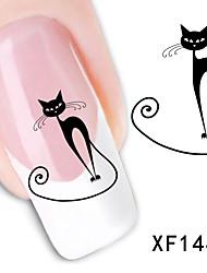 11sheets  Mixed Cartoon  Animal  DIY Water Transfer Sticker Nail Art  Beautiful STZ Aminal11
