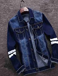 2016 new spring men's denim jacket slim denim jacket Korean youth Metrosexual jacket
