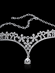 Selling The Bride Adorn Article Korean Droplets Diamond Frontal Act The Role Of Marriage Wedding Dress Accessories
