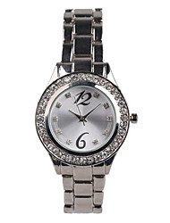 Fashion Silver Alloy Suit Women's Watch Cool Watches Unique Watches
