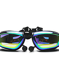 FEIUPE Swimming Goggles Women's / Men's / Unisex Anti-Fog / Waterproof / Adjustable Size / Anti-UV Silica Gel PCWhite / Gray / Black /