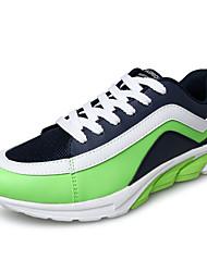 Men's Running Shoes Leatherette Green / Red / Orange