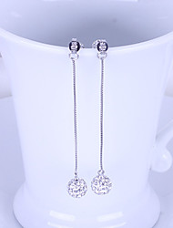 Women`s Cute  Party Cubic Zirconia Drop Earrings