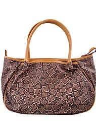 Damen - Umhängetasche / Beutel / Laptop Tasche - PVC / PU - Shopper - Khaki